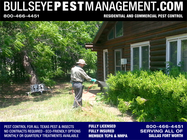 Pest Control in Red Oak Texas for Carpenter Ants and General Pest