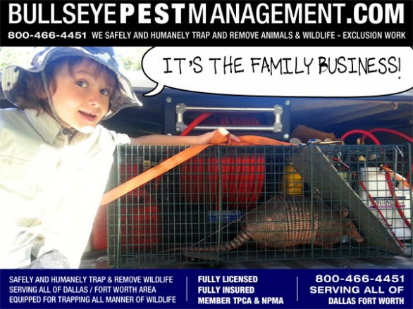 Bullseye Pest Management is a family-owned business independently owned and operated.