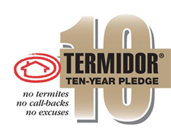 Termidor Ten-Year Pledge
