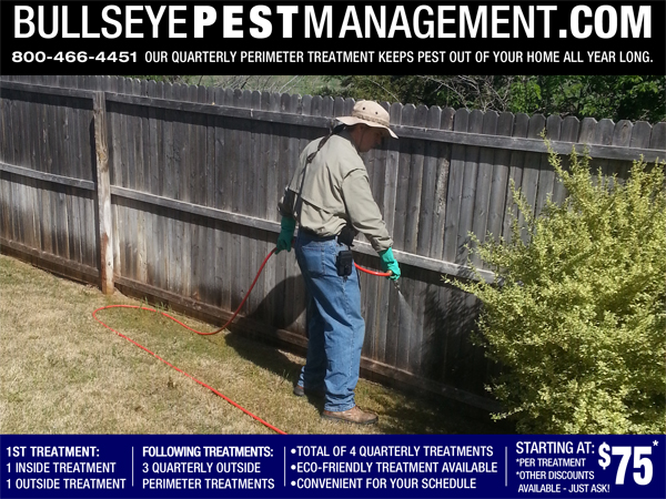 Pest Control in Denton Texas by Bullseye Pest Management
