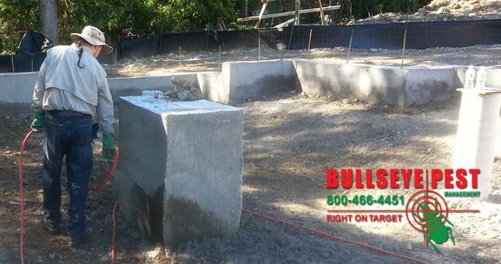 Termite Pretreatment By Bullseye Pest Management